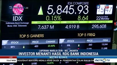 Investor Menanti Hasil RDG Bank Indonesia
