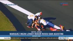Marquez Alami Insiden Saat Rayakan Juara