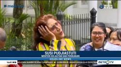 Enggan Tanggapi Sandi, Menteri Susi Pilih Tidur