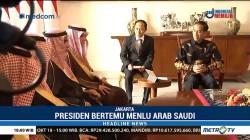 Bertemu Menlu Arab Saudi, Jokowi Bahas Kasus Khashoggi