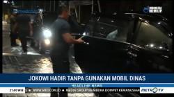 Hadiri Konsolidasi Tim Kampanye, Jokowi Tak Pakai Mobil Dinas