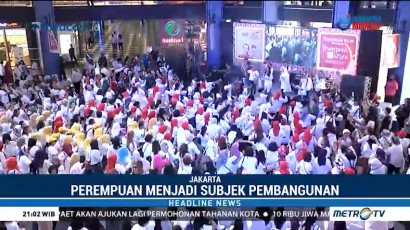 Jokowi-Ma'ruf Gaet Suara Lewat Deklarasi Perempuan Keren