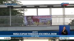 Warga Ucapkan Terima Kasih atas Kinerja Empat Tahun Jokowi-JK