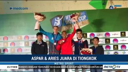 Dua Atlet RI Juarai Piala Dunia Panjat Tebing 2018