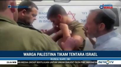 Seorang Warga Palestina Ditembak Mati Akibat Tikam Tentara Israel