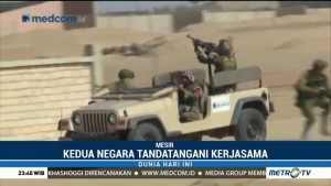 Rusia-Mesir Gelar Latihan Militer