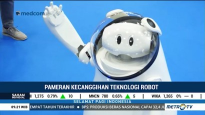 World Robot Summit 2018 Pamerkan Deretan Robot Canggih