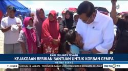 Jaksa Agung Tinjau Langsung Lokasi Terdampak Bencana Sulteng