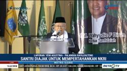 Ma'ruf Amin Hadiri Perayaan Hari Santri di Palangka Raya