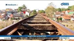 Jalur Kereta Cibatu-Cikajang Berubah Jadi Permukiman Warga