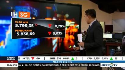Pasar Merespon Negatif Hasil RDG Bank Indonesia
