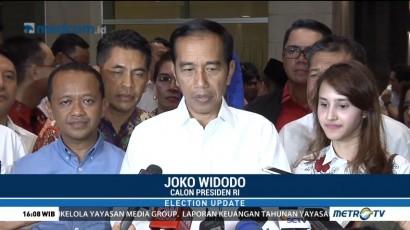 Kumpulkan Timses, Jokowi Ingin Kampanye Positif di Pilpres 2019