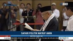 Ma'ruf Amin Lantik TKD dan Pimpinan Rumah KMA Kalimantan Tengah