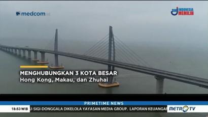 Jembatan Laut Terpanjang di Dunia Dibuka