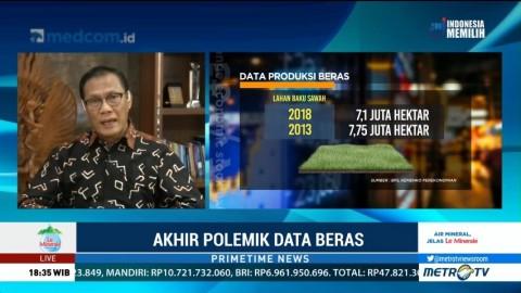 BPS: Setiap Bulan Konsumsi Beras Nasional 2,5 Juta Ton