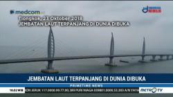 Hubungkan Tiongkok-Hong Kong, Jembatan Laut Terpanjang di Dunia Dibuka