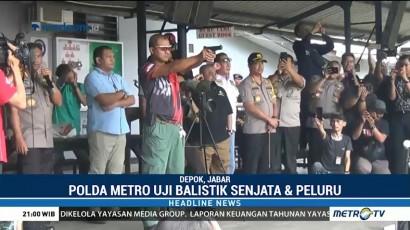 Polisi Uji Balistik Peluru Nyasar ke Gedung DPR