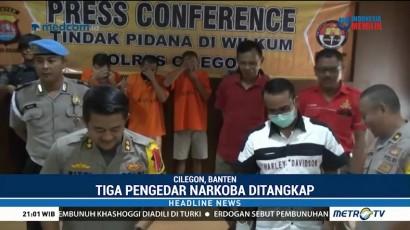 Polisi Tangkap Pengedar Sabu dan Tembakau Gorila di Kalangan Pelajar