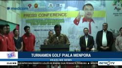11 Negara Ikuti Turnamen Golf Piala Menpora 2018