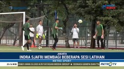 Latihan Timnas U-19 Jelang Laga Melawan UEA