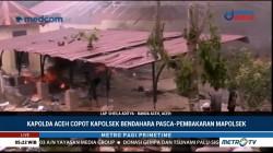 Pascapembakaran Polsek, Polda Aceh Copot Kapolsek Bendahara