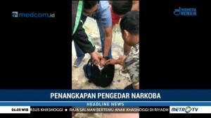 Polisi Tangkap Pengedar Narkoba di Sumut