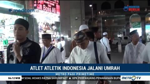 Atlet Atletik Indonesia Jalani Ibadah Umrah