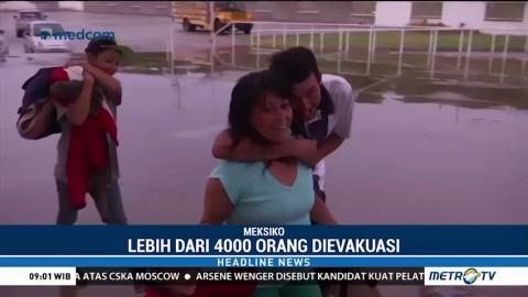 Badai Willa Bergerak ke Meksiko, Ribuan Warga Dievakuasi