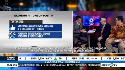 Ekonomi Indonesia Tumbuh Positif