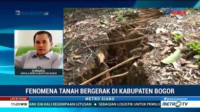 BPBD Kab Bogor Sudah Petakan Daerah Rawan Pergerakan Tanah