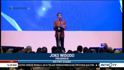 Jokowi Buka Trade Expo Indonesia 2018