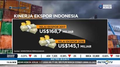 Kinerja Ekspor RI Terus Meningkat