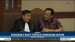 Sidang PK, Irman Gusman Serahkan Enam Bukti Tertulis Pendukung Novum