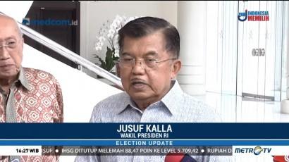 JK Tegaskan Negara Hanya Anggarkan Pelatihan Saksi di Pemilu 2019