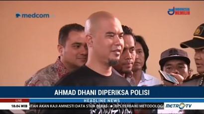 Terkait Kasus Penipuan, Ahmad Dhani Penuhi Panggilan Polda Jatim