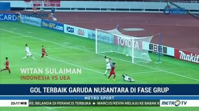 Lima Gol Terbaik Garuda Nusantara di Fase Grup