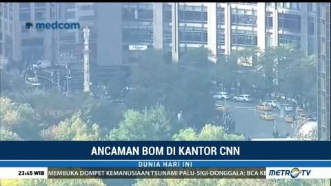 Terkait Temuan Bom, Karyawan CNN Dievakuasi