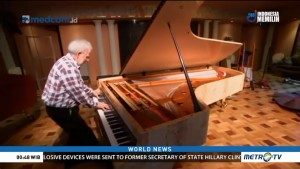 World's First 108 Key Piano