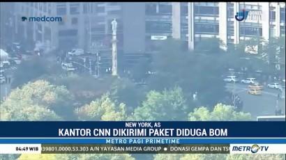 Kantor CNN di New York Dapat Ancaman Bom