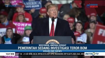 Trump Janji Selidiki Teror Bom Terhadap Obama dan Clinton
