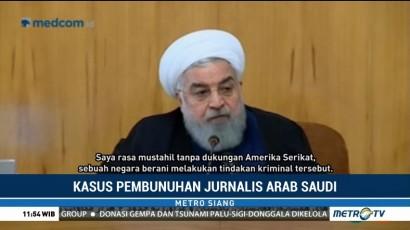 Presiden Iran Tuding Pembunuhan Khashoggi atas Perlindungan AS