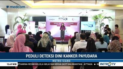 Media Group Peduli Deteksi Dini Kanker Payudara