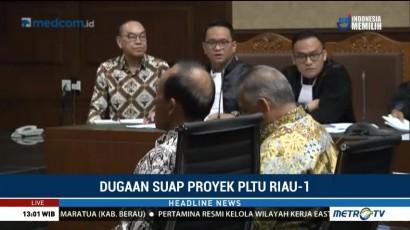 Dirut PLN Bersaksi di Sidang Lanjutan Suap PLTU Riau-1