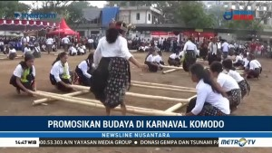 Kemeriahan Karnaval Komodo