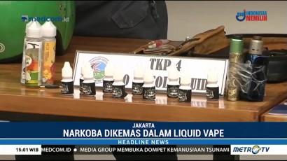 Polisi Ungkap Peredaran Narkoba dalam Liquid Vape