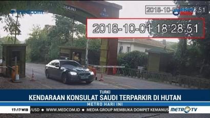 Mobil Milik Konsulat Saudi Lihat Hutan di Istanbul Sebelum Khashoggi Dibunuh