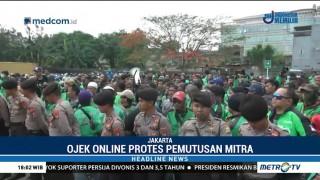 Pengemudi Ojek Online Protes Kena <i>Suspend</i>