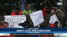 Sopir Angkot Serang-Balaraja Minta Angkutan Ilegal Ditindak