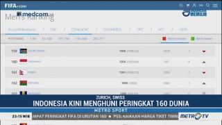 Indonesia Naik 4 Peringkat di Ranking FIFA