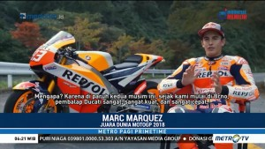 Marquez Bicara Soal Gelar Juara MotoGP 2018
